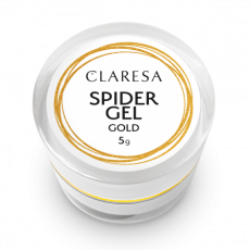 Nr kat.CLA06018 SPIDER GEL GOLD - Kolorowy Żel UV do zdobień