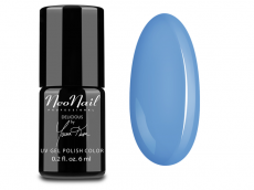 Nr kat.SNL5634 Lakier Hybrydowy 6 ml - Blue Cream Jelly